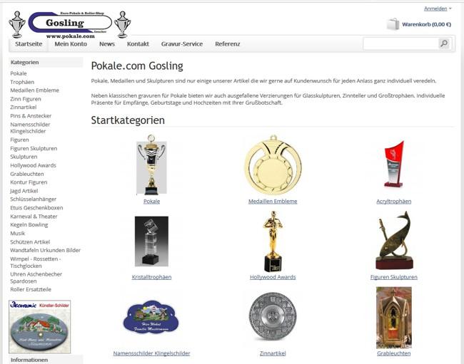 Euro Pokale Roller Shop Gosling Immingfeldweg 147 Tel02563
